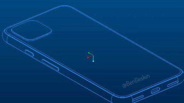 Google Pixel 4 CAD