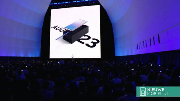 Samsung Galaxy Note 10 komt 23 augustus