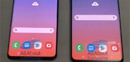 Samsung Galaxy S10 en S10+ in levende lijve gefotografeerd