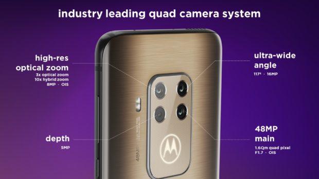 Motorola One Zoom camerasystem