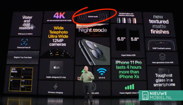 Apple Keynote Spatial Audio
