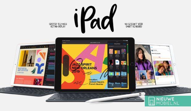 Nieuwe Apple iPad (2019)