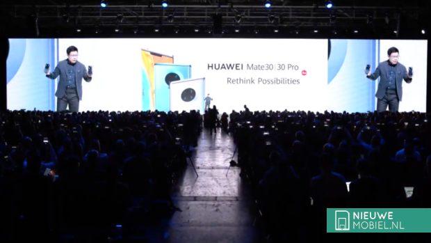 Huawei Mate 30-serie press event
