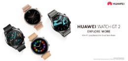 Huawei Watch GT 2 officieel met accuduur van 2 weken