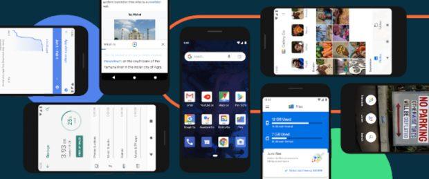 Google brengt Android 10 Go Edition uit voor instaptelefoons