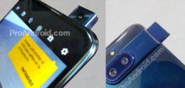 Onbekende Motorola gespot met uitschuifbare selfiecamera