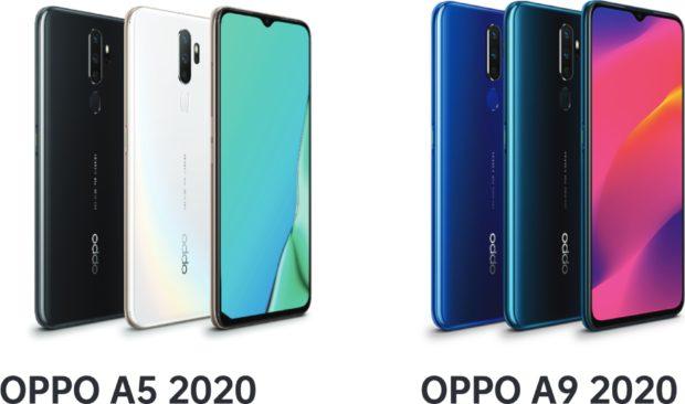 Oppo A5 2020 en A9 2020