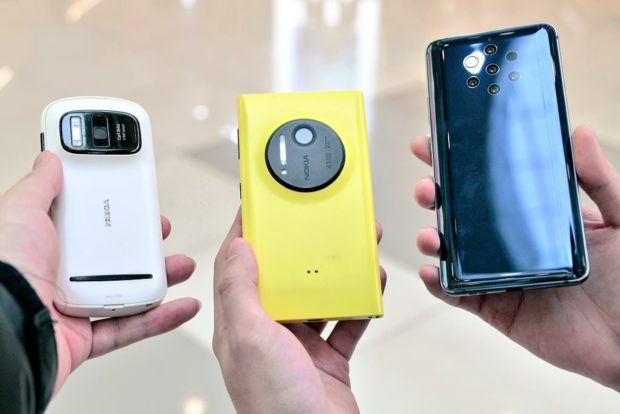 Nokia PureView phones