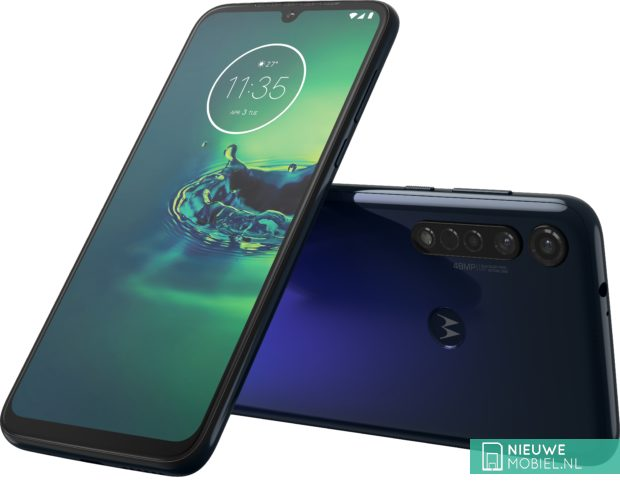 Motorola Moto G8 Plus in Cosmic Blue