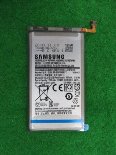 Samsung Galaxy S10 Lite batterij