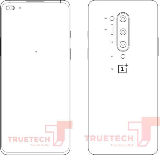 OnePlus 8 Pro schema