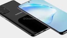 Renders en bewegende beelden van Samsung Galaxy S11 binnen