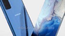 Samsung Galaxy S11e gelekt; ontwerp flink op de schop