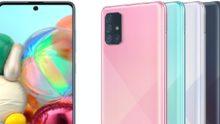 Samsung maakt Galaxy A51 en A71 officieel met nieuw design