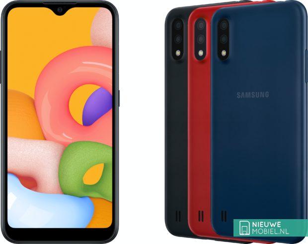 Samsung Galaxy A01 colors