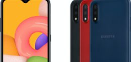 Eenvoudige en kleine Samsung Galaxy A01 onthuld