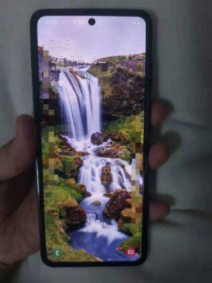 Samsung Galaxy Fold 2 open