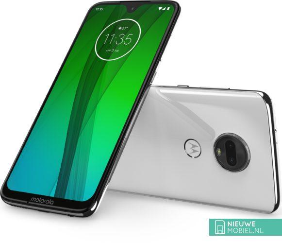 Motorola Moto G7 in het wit