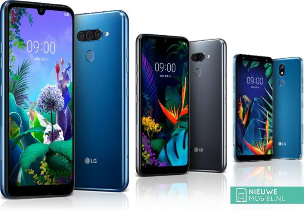 LG Q60, K50 en K40