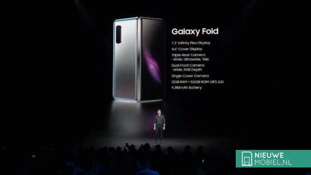 Samsung Galaxy Fold specificaties