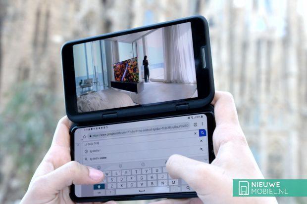 LG V50 ThinQ met Dual Screen