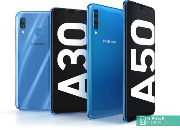 Samsung Galaxy A50 en A30