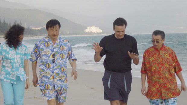 Ren Zhengfei van Huawei en Mike Zafirovski en Larry Cheng van Motorola