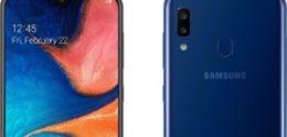 Samsung Kazachstan kondigt Galaxy A20 instapper aan