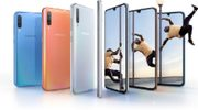 Samsung onthult 6,7 inch grote Galaxy A70 met 4 camera's