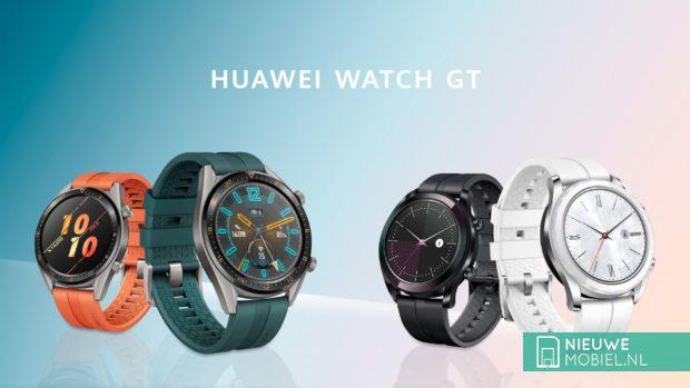 Huawei Watch GT Active en Watch GT Elegant