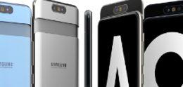 Zo ziet de Samsung Galaxy A90 met z'n draaibare camera eruit