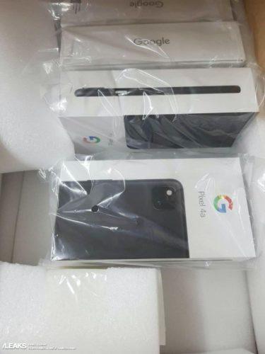 Google Pixel 4a retail box