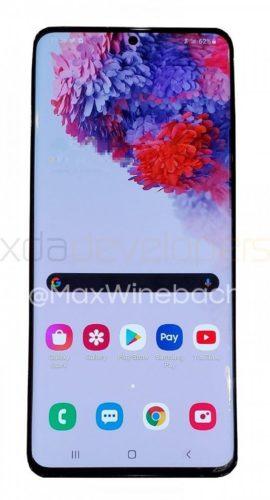Samsung Galaxy S20+ 5G front