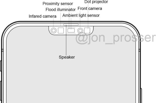 iPhone 12 Pro notch layout