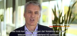 Vodafone activeert 5G in zuidelijke helft van Nederland