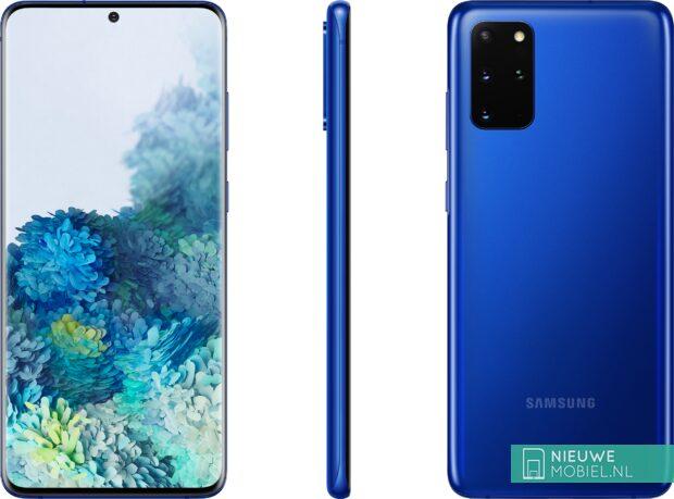 Samsung Galaxy S20+ in Aura Blue
