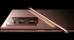 Samsung lekt zelf afbeelding Galaxy Note 20 Ultra 5G