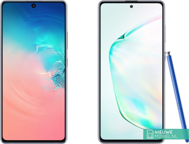 Samsung Galaxy S10 Lite and Note10 Lite