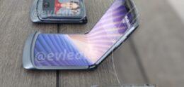 Les images du Motorola razr (2020) montrent un menton plus petit