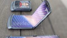 Beelden Motorola razr (2020) tonen kleinere onderkin