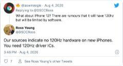 Apple iPhone 12 blijft vasthouden aan ouderwetse 60Hz