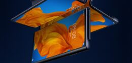 Rumor: Display Huawei Mate X2 folds inwards