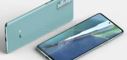 Render shows Samsung Galaxy S20 FAE 5G with 120Hz screen