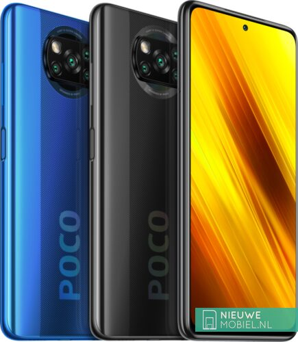 Xiaomi POCO X3 NFC Blue and Gray