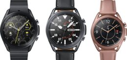 Samsung anuncia el lujoso reloj Galaxy Watch3 Titanium