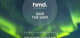 Nokia holds event on September 22nd