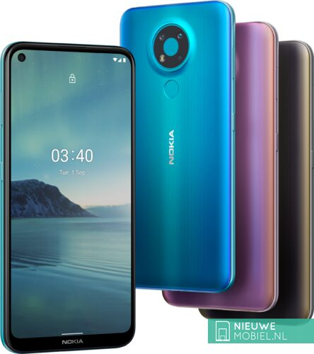 Nokia 3.4 colors