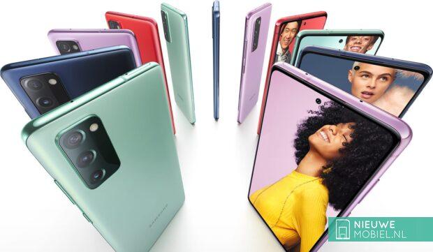 Samsung Galaxy S20 Fan Edition colors