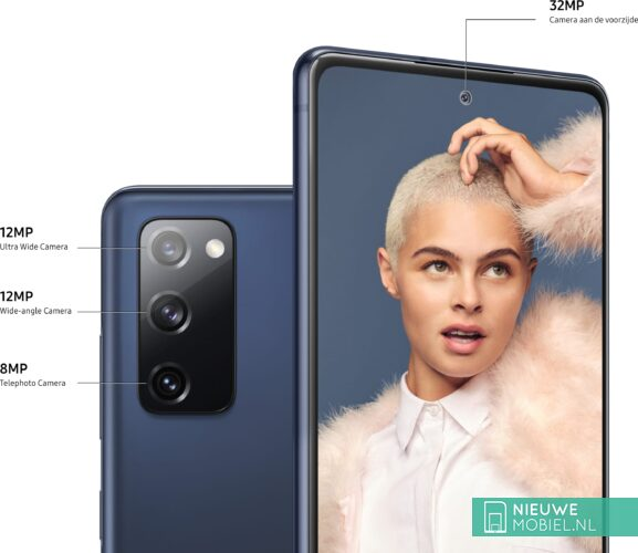 Samsung Galaxy S20 FE camera specs