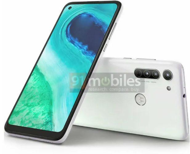 Motorola Moto G8 White